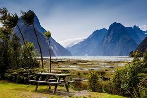Milford Sound, Fiordland, Nouvelle-Zélande photo