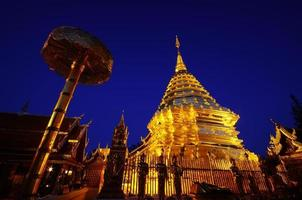Wat phrathat doi suthep dans la province de Chiang Mai, Thaïlande photo