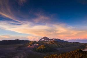 volcan du mont bromo photo