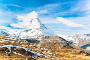Mont Cervin, Zermatt, Suisse