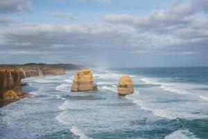 douze apôtres à la grande tournée de la route de l'océan