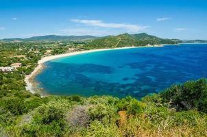 côte sud de la Sardaigne photo