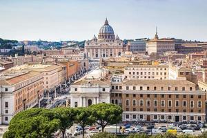 skyline de rome photo