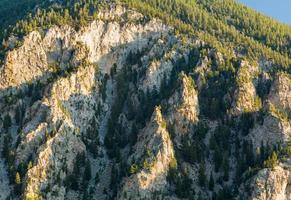 Falaises de craie du mont Princeton Colorado photo