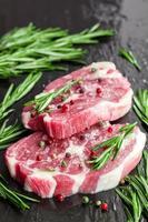 steaks crus photo