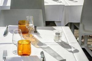 Café de rue à Florence