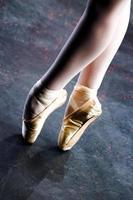 photographie d'une ballerine, en-pointe photo