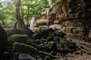 La cascade de haew suwat en thaïlande photo