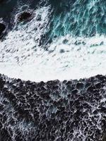 texture des vagues de l'océan