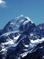 Mount Cook Glacier en Nouvelle-Zélande photo