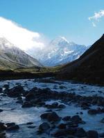 Mount Cook en Nouvelle-Zélande photo