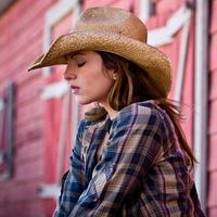 cow-girl photo