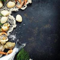 fruits de mer frais photo