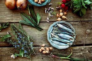 sardines fraîches photo