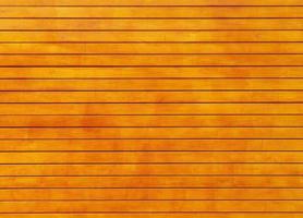 mur de planches de bois orange