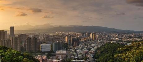 paysage urbain de taipei photo