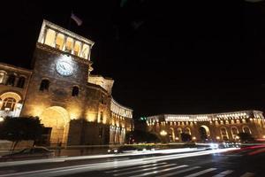 Erevan, place de la République. Arménie photo
