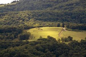 collines de Virginie occidentale photo