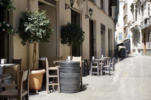 table de bar alley malaga