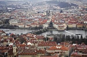 Prague divisée