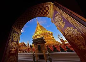 Temple doi suthep, chiangmai, thaïlande