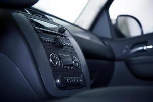 tableau de bord et intérieur de voiture photo