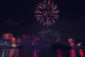 feux d'artifice à Brisbane - 2014