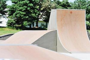 rampes de skateboard photo