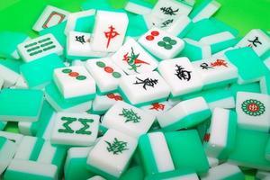 tuiles de mahjong photo