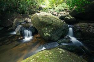 cascades de khlong pla kang en thaïlande.