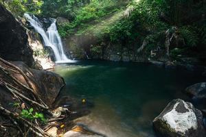Cascade de Khlong Pla Kang en Thaïlande