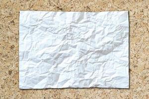fond de papier blanc isolé
