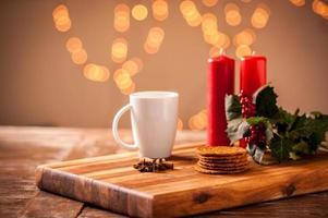 nourriture et boisson de Noël