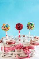 gâteaux pop temps photo