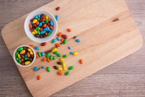 bonbons sucrés à la gelée photo