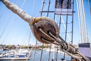 poulie de câble pour navire