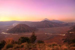 Bromo Mountain le matin, Indonésie photo