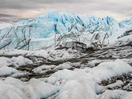 glacier de l'Alaska Matanuska photo