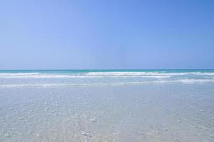 vue sur la plage photo