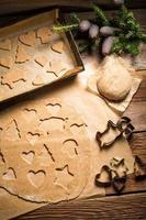 biscuits sucrés au pain d'épice pour Noël photo