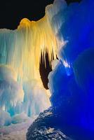 cathédrale de glace photo