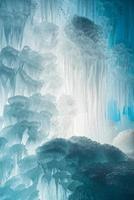 résumé de glace congelée photo