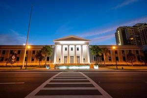 Cour suprême de Floride la nuit