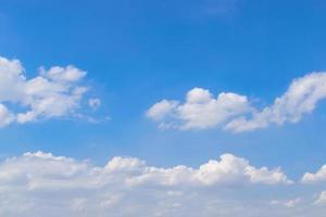 nuages flous et fond de ciel