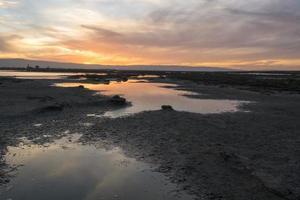coucher de soleil - refuge faunique national Don Edwards
