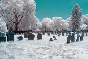 cimetière infrarouge