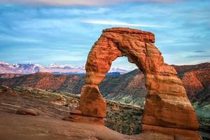 arc délicat dans l'Utah