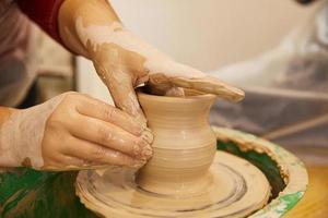 gros plan de la céramique