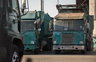 camion à ordures photo