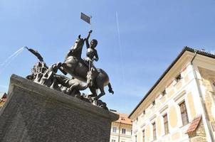 statue de saint george, prague